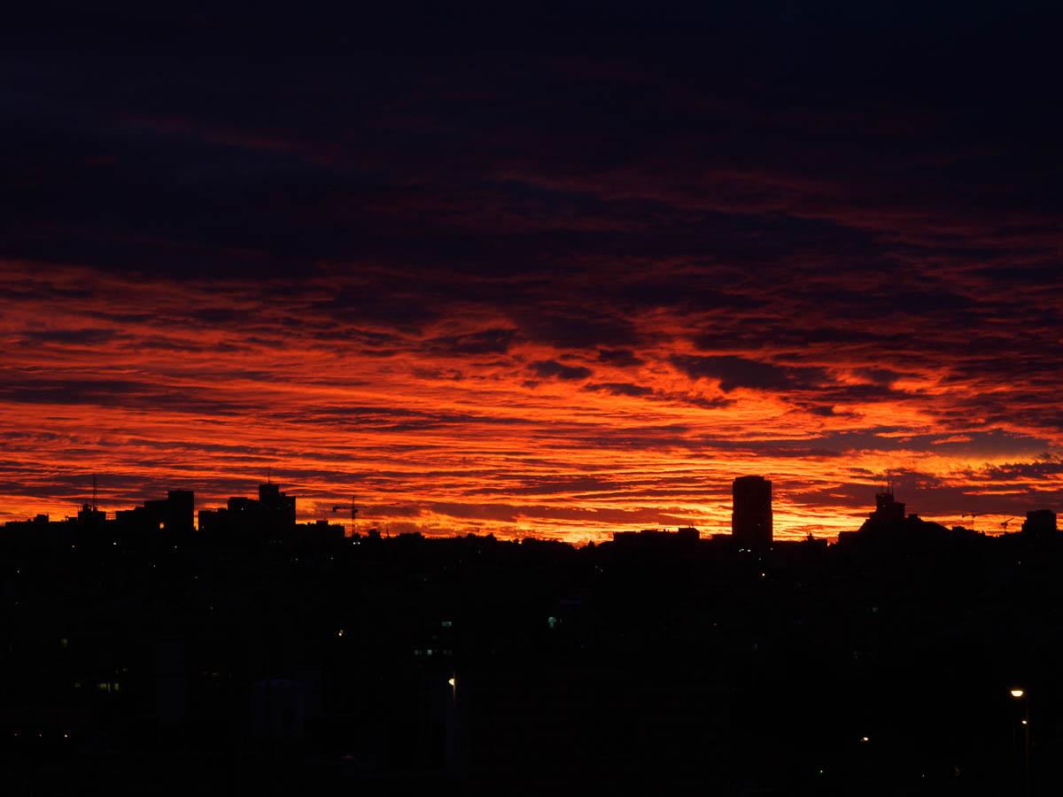 Jerusalem Sonnenuntergang