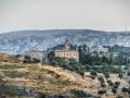 Mar Elias griechisch-orthodoxes Kloster mit Bethlehem im Hintergrund