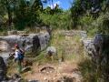 Antike Ölpresse in Horvat Danila