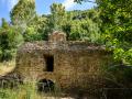 Antike Wassermühle für die Wollverarbeitung am Nahal Amud