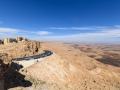 Mitzpe Ramon - Blick in den Ramon-Krater (Makhtesh Ramon)