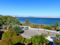 Blick auf den See Genezareth vom Pilgerhaus Tabgha