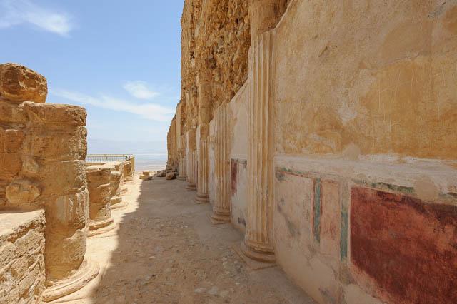 Herodespalast auf Masada