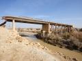 Allenby-Brücke im Jordantal